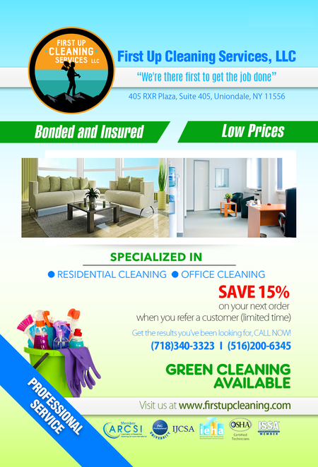 First Up Cleaning Services Uniondale NY House Cleaning