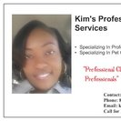 KIM'S CLEANING SERVICES's Photo
