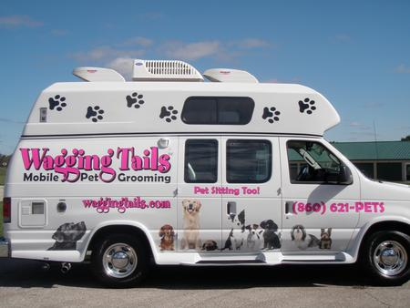 Wagging tails pet resort spaw pet sitting mobile for A wagging tail pet salon