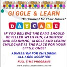 Giggle And Learn Day Care's Photo