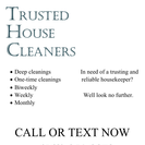 Trusted House Cleaners's Photo