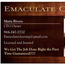 Emaculate Cleaning's Photo