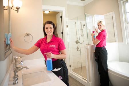 Two Maids A Mop Carecom Savannah GA House Cleaning Service - Bathroom maid