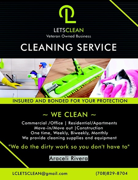 Lets Clean Care Com Melrose Park Il House Cleaning Service