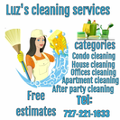Luz's Cleaning Service's Photo