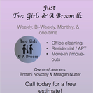 Just Two Girls & A Broom LLC's Photo