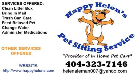 Happy Helens Pet Sitting Service - Care com Buford, GA