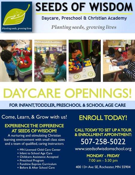 Seeds of Wisdom Early Development Center - Care com