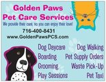 Golden Paws Pet Care Services