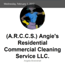 (ARCCS) Angie's Residential Commercial Cleaning Service's Photo