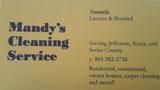 Mandy's Cleaning Service's Photo