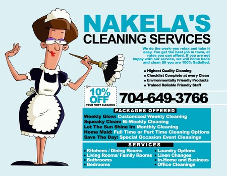 Nakela's Cleaning Services - Care.com Charlotte, NC House Cleaning ...