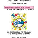 Kitty's Crystal Cleaning Service's Photo