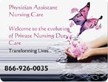 Physician Assistant Nursing Care of America's Photo