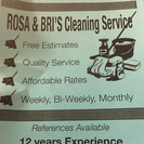 Rosa and Bri's Cleaning Service's Photo