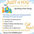 Just 4 You Cleaning Services's Photo