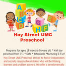 Hay Street UMC Preschool's Photo