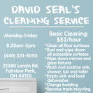 David Seal's Cleaning service's Photo