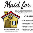 Maid for Austin's Photo