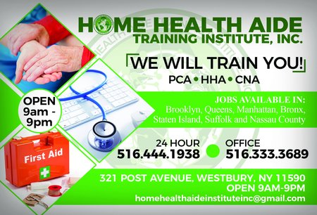 Home Health Aide Training Institute Inc Care Westbury Ny