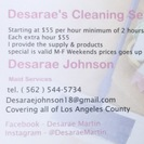 Desarae's Cleaning Services's Photo